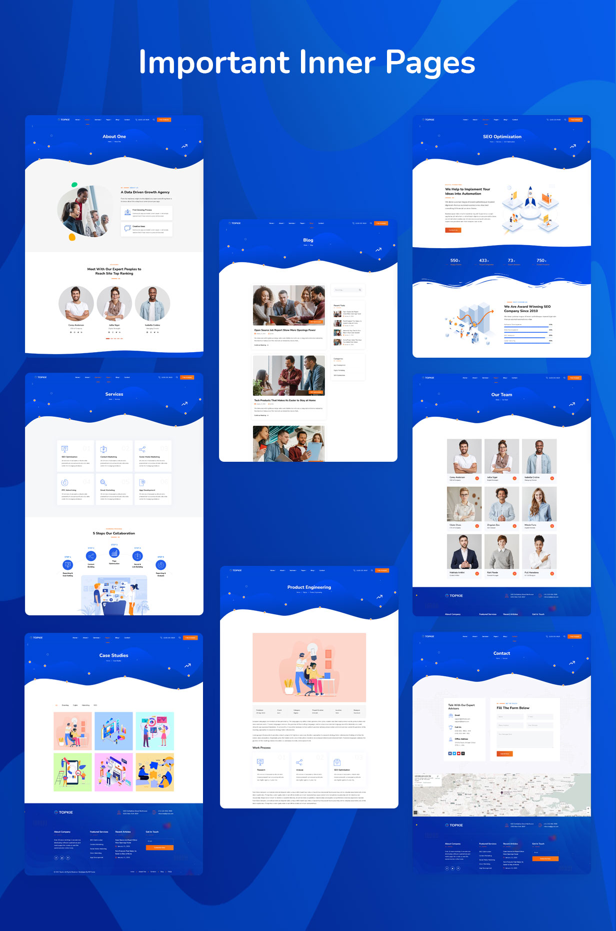 topkie - SEO & Digital Marketing WordPress Theme